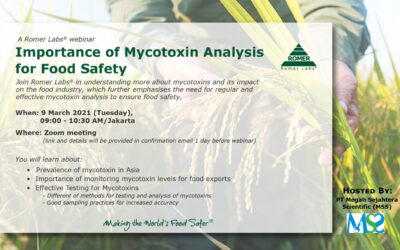 Importance of Mycotoxin Analysis for Food Safety Webinar